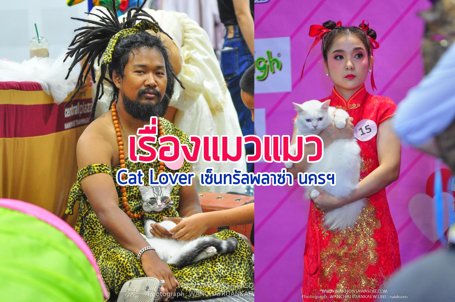 งาน cat lover เซ็นทรัล นครศรีธรรมราช